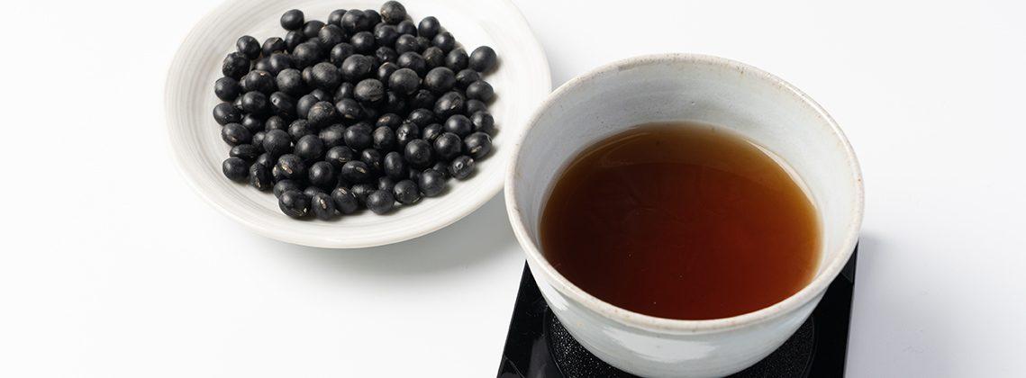 黒 豆 茶